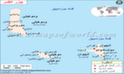 جزر القمر الخريطة