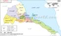 خريطة إريتريا