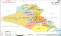 العراق خريطة