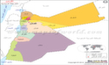 الأردن خريطة